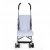 Blauwe kinderwagen voetenzak multifunctioneel