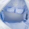 Blauwe luiertas met verschoningsmat - 42 x 31 x 16 cm