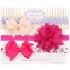 Newborn Haarbanden set met strik flower