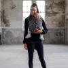 Stretch Draagdoek Deluxe Brown Leopard