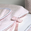 Classic Chic aankleedkussenhoes roze