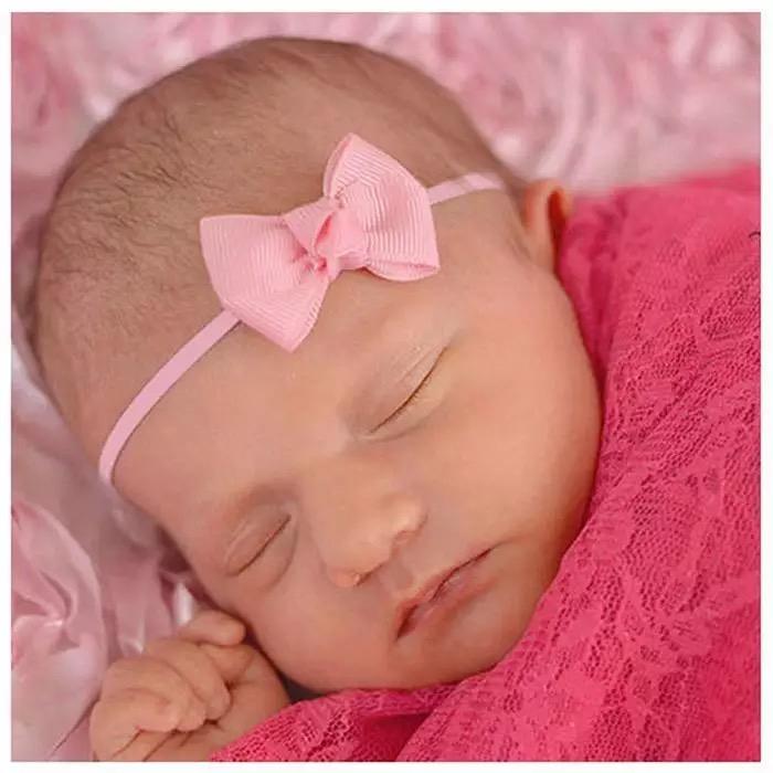 Mini Baby bow haarbandje