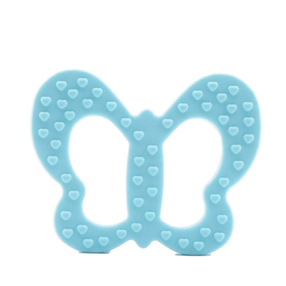Vlinder bijtring blauw