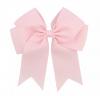 XXL roze haarelastiekje ribbon