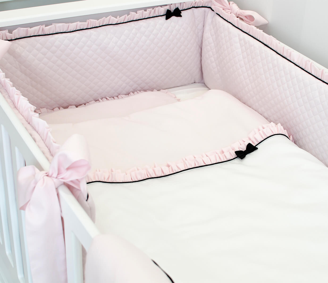 Roze Royal Paris bedbumper