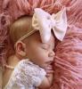 Baby haarbandje big bow diverse kleuren
