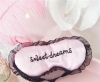 Sweet dreams roze slaapmasker 2