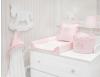 Roze Royal Golden Glow commode mandje