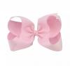 Roze XL Bow haarclip