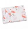 Hydrofiele doek zalm kleurige flamingo 120x120cm
