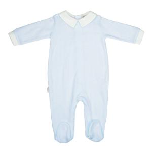 Rombos jumpsuit blauw