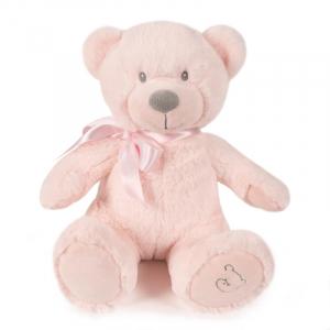 Roze knuffelbeer 35cm