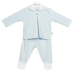 Blauw 2-delig babypakje