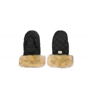 Luxe zwarte handschoenen Black Edition