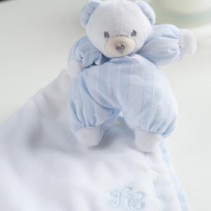 My favorite velvet teddy bear blauw