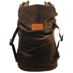 Click Carrier Classic Draagzak Ribbed Dark Brown