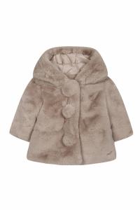 Luxury Fake Fur jasje Nature