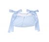 Blauwe Royal quilted opbergtas / speelgoedtas