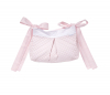 Roze Royal quilted opbergtas / speelgoedtas
