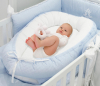 Blauw Quilted Royal Baby Nestje