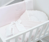 Roze Angel quilted bow slaapzak
