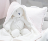 Roze Royal Monogram Baby Badcape