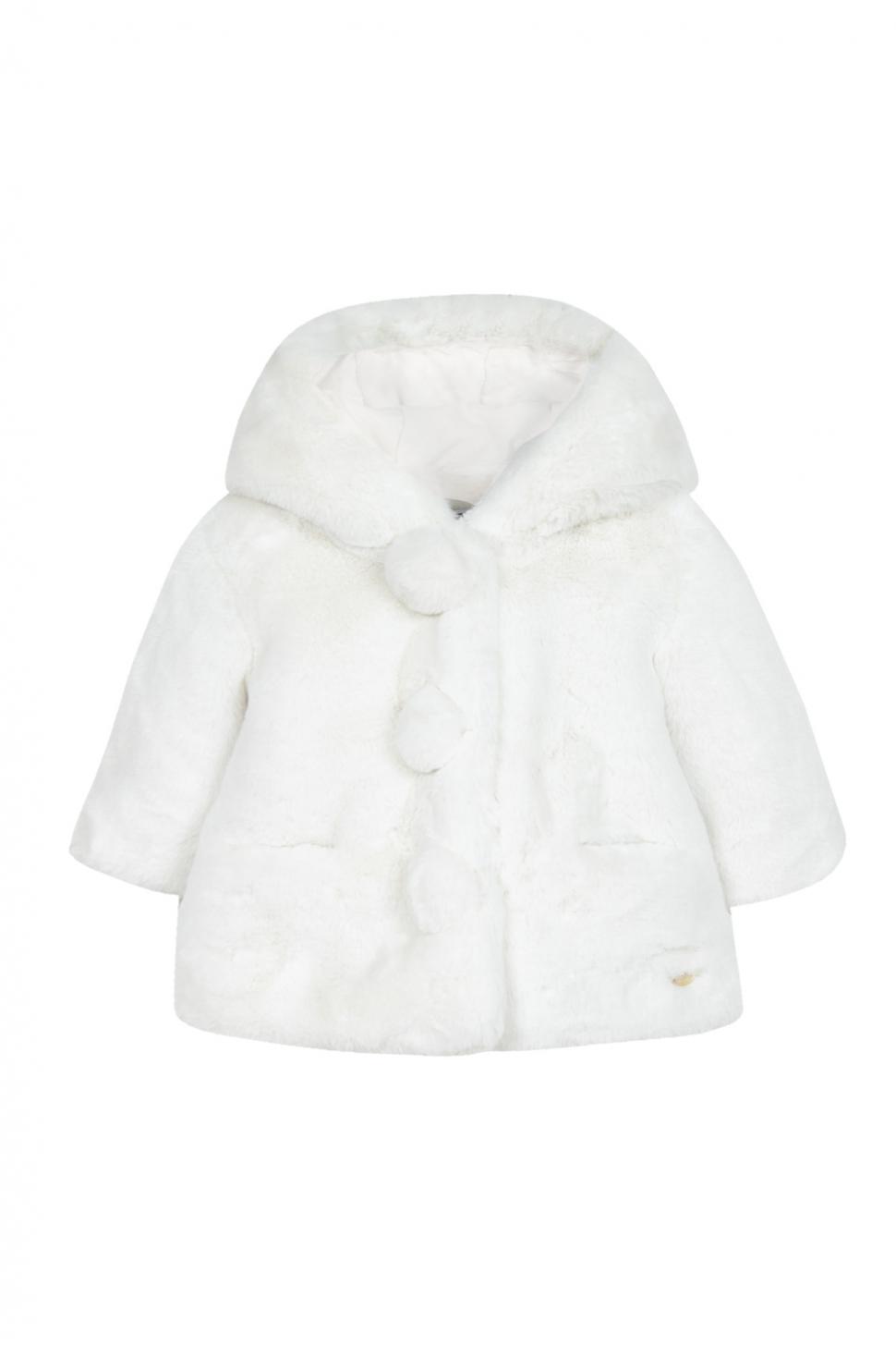 Luxury Fake Fur jasje Wit