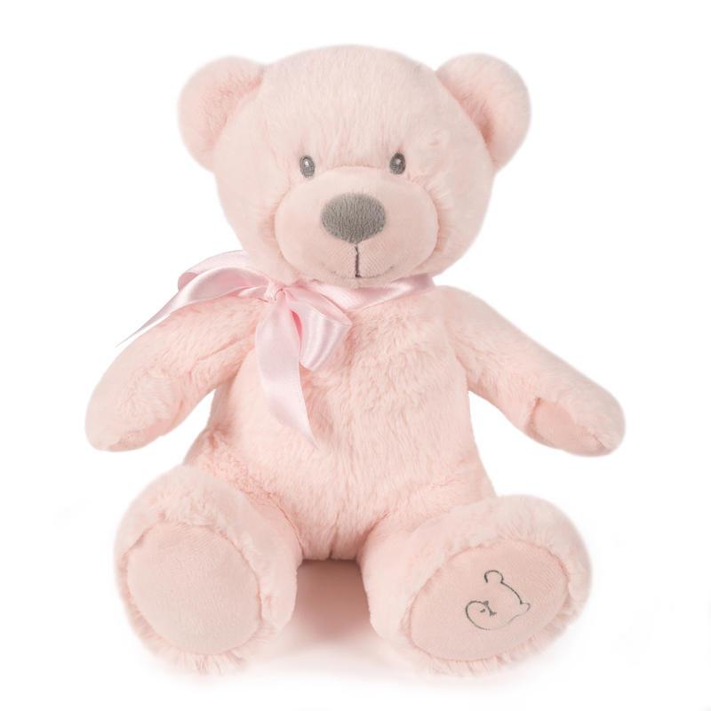 Roze knuffelbeer 25cm