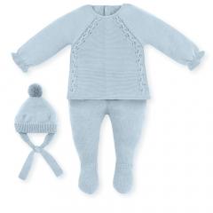 Babypakje Blauw Cloudy Winter set