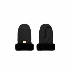 Luxe zwart diamond handschoenen