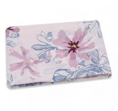 Hydrofiele doek purple flower 110x110cm