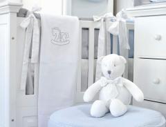 Witte silver bright Royal teddybeer