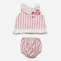 2-delig roze zomer pakje