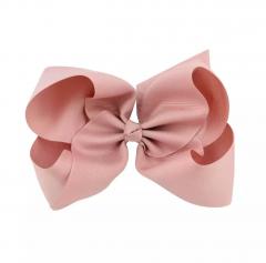 Oud Roze XL bow haarclip