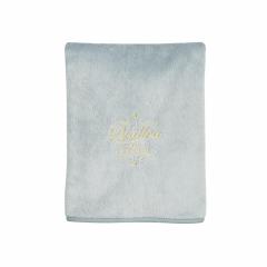Pearl Velvet dekentje Trendy Grey