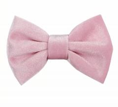Licht roze velvet haarclip