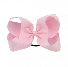 Roze XL haarelastiekje