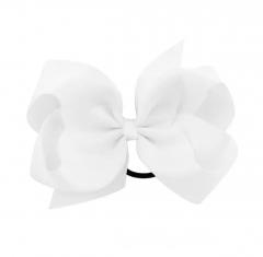 Wit XL haarelastiekje