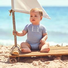 Blauw zomer pakje Marine