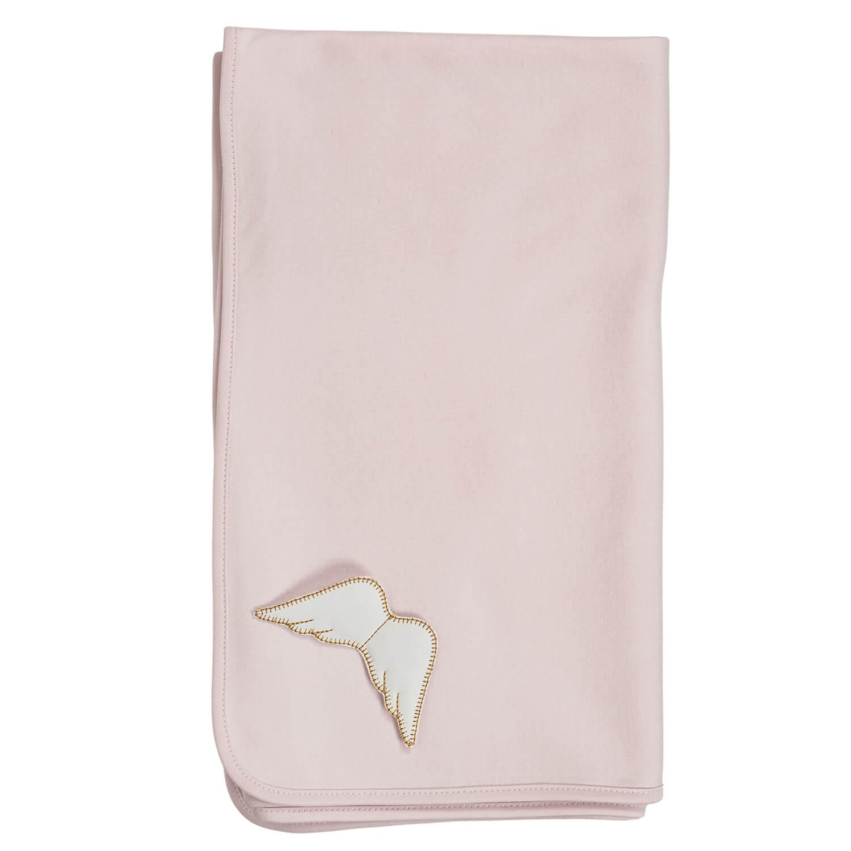 Roze angel deken 77x92 cm