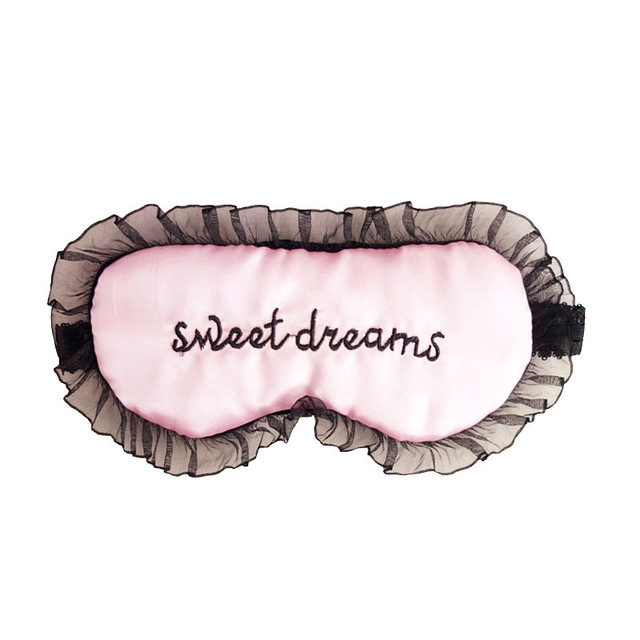 Sweet dreams roze slaapmasker